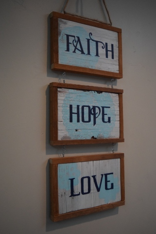 """Faith, Hope, Love"""